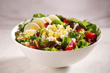 Salad with Diced Eggs