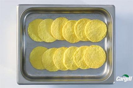 Egg Patties in a Pan